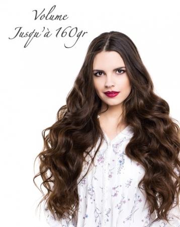 Extensions de cheveux naturels à kératine sur-mesure
