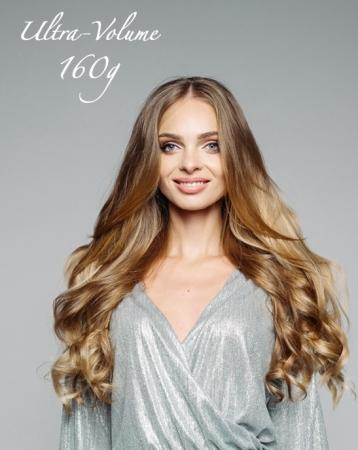 Extensions de cheveux à clips Ultra-Volume 160g