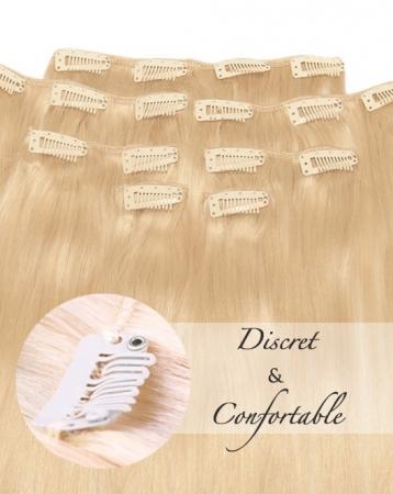 Extensions de cheveux naturels à Clips - Exclusive