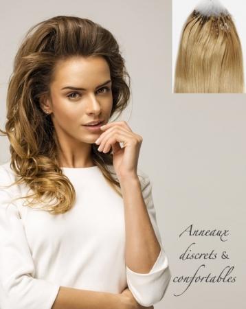 Extensions de cheveux naturels Easy Loops - Exclusive