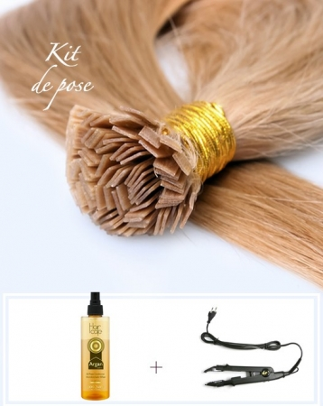 Kit d'Extensions de cheveux à Kératine - Exclusive