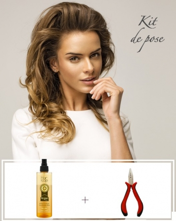 Kit d'extensions de cheveux Easy Loops - Exclusive