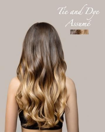 Extensions de cheveux Tie & Dye Assumé à clips - Exclusive