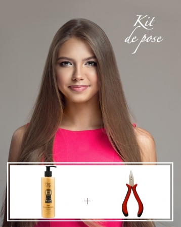 Kit d'extensions de cheveux Russes Easy Loops - Luxe