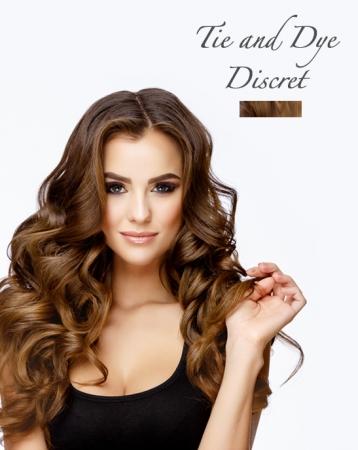 Extensions de cheveux Tie & Dye Discret à clips - Exclusive
