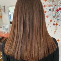 Superbe pose de nos mèches à kératine #6 Châtain foncé par @metamorphosefeeling.coiffure ✨